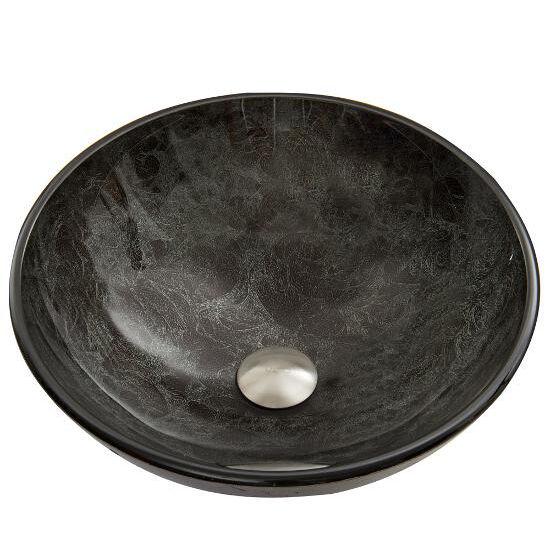 Gray Onyx Glass Sink