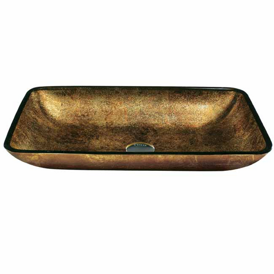Vigo Copper Glass Vessel Sink