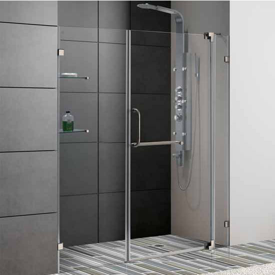 Vigo 66-Inch Frameless Shower Door