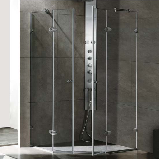 "Vigo Shower Enclosure, 40"" W x 40"" L x 73 3/8"" H"