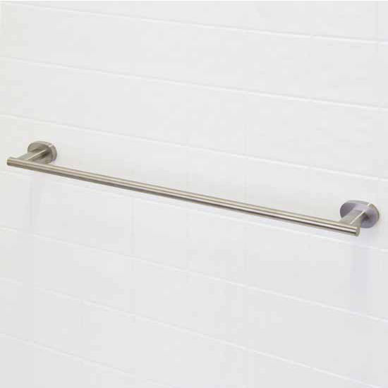 "Vigo Ovando 24"" Round Design Towel Bar in Brushed Nickel or Oil Rubbed Bronze"