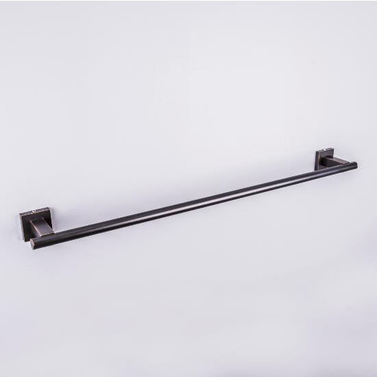 "Vigo Allure 24"" Square Design Towel Bar in Antique Rubbed Bronze, Brushed Nickel, Oil Rubbed Bronze or Chrome"