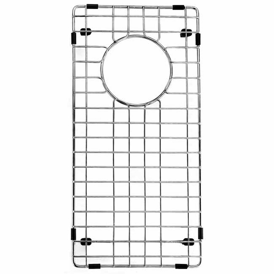 "Vigo Kitchen Sink Bottom Grid 8"" x 17"""