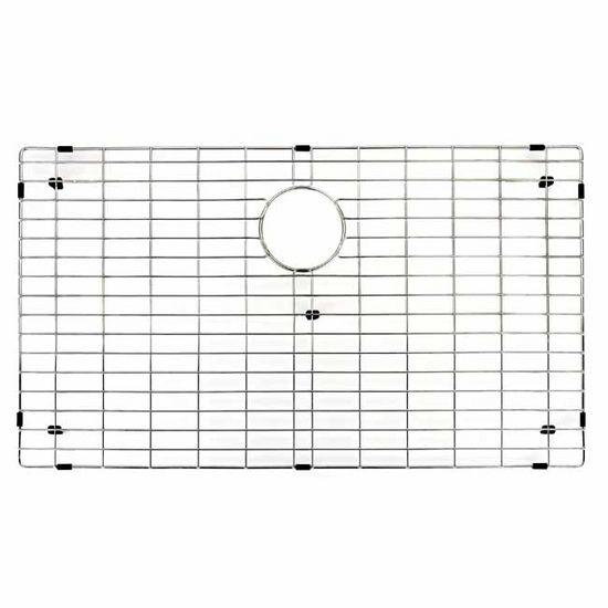 "Vigo Kitchen Sink Bottom Grid 30"" x 17"""