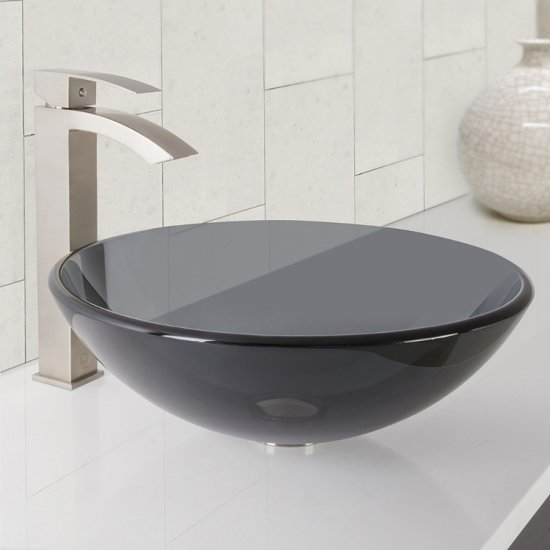 VGT1035 Sink Set w/ Duris Faucet Brushed Nickel