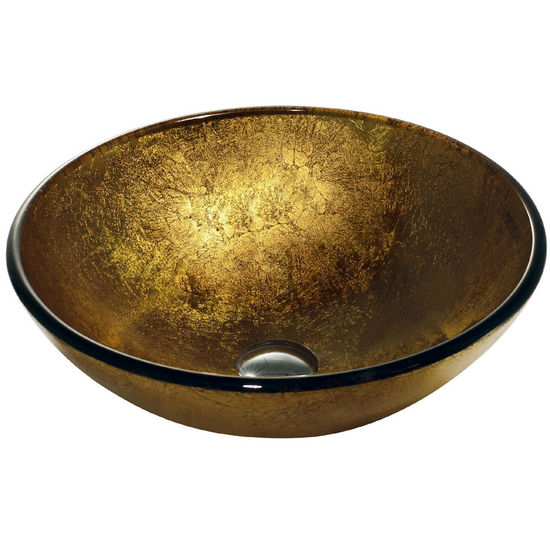 Vigo Liquid Gold Vessel Sink, Finish