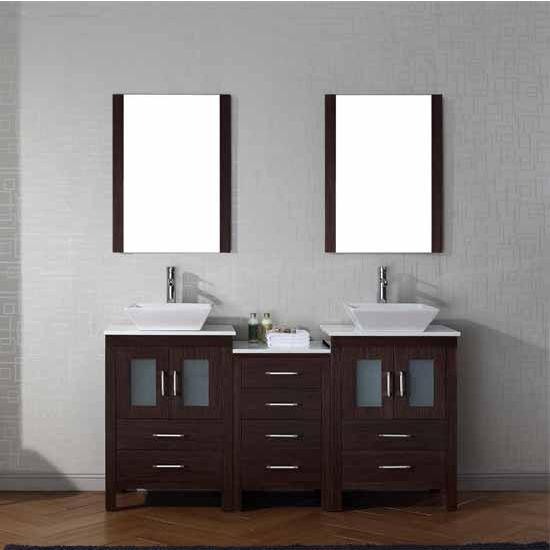 Bathroom Vanities 66 39 39 Dior Double Sinks Bathroom Vanity Set In Mult