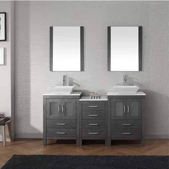 Bathroom Vanities 66 Dior Double Sinks Bathroom Vanity
