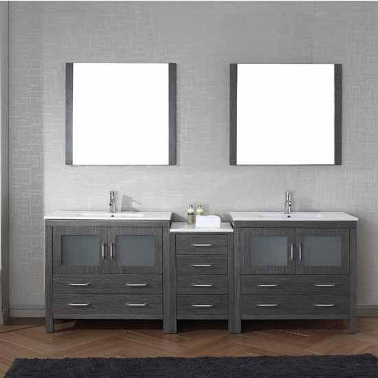 Bathroom Vanities 90 Dior Double Sinks Bathroom Vanity