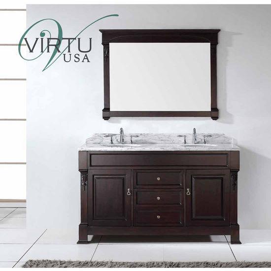 Bathroom Vanities 60 Huntshire Double Round Or Square Sinks Bathroom V