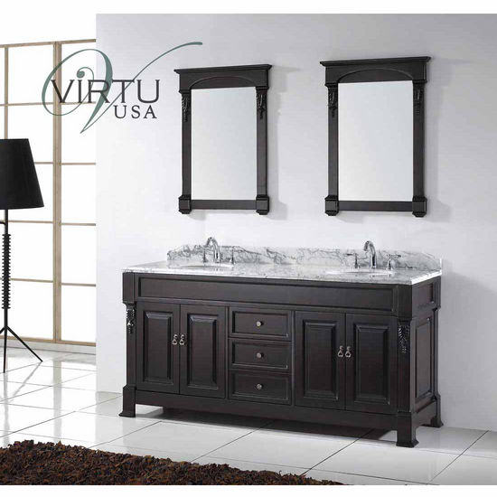 bathroom vanities 72 huntshire double round or square sinks bathroom