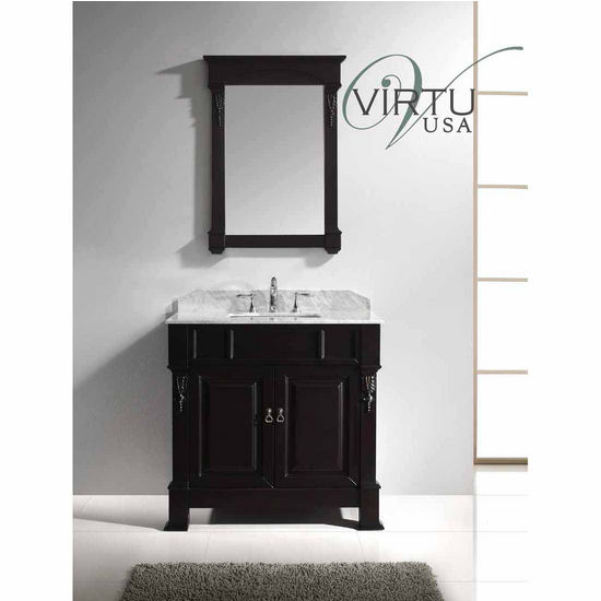 Perfect USA 72 Winterfell DOUBLE SINK VANITIES Square Sink Bathroom Vanity