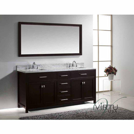 Model Wood Mirror Frame  Hand Made In USA  Dcor For Home Bathroom