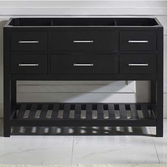 Virtu USA 48'' Caroline Estate Single Sink Cabinet, Espresso