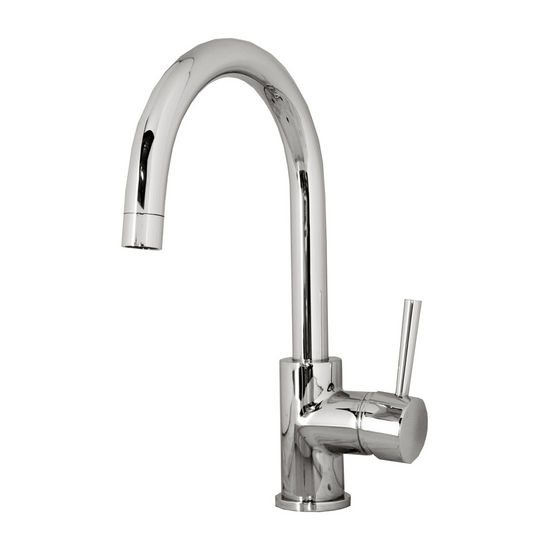Virtu Keplen Kitchen Faucet in Polished Chrome Finish