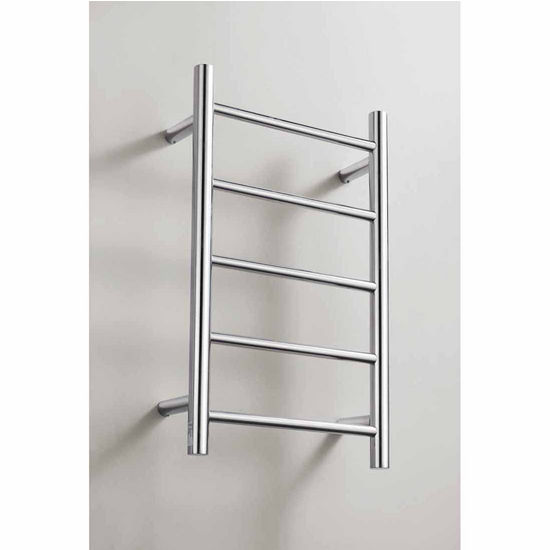 Virtu Koze Collection Towel Warmer, Polished Chrome, 14-4/5''W x 4-2/5''D x 23-3/5''H, 40W Watts, 0.33 Amps