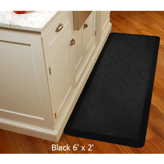 WellnessMats 2011 Motif Collection - Bella Wellness Mat, Black