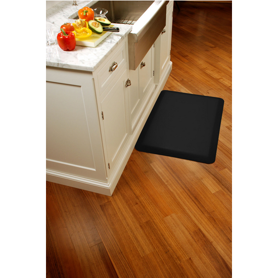 WellnessMats Wellness Mat, Black