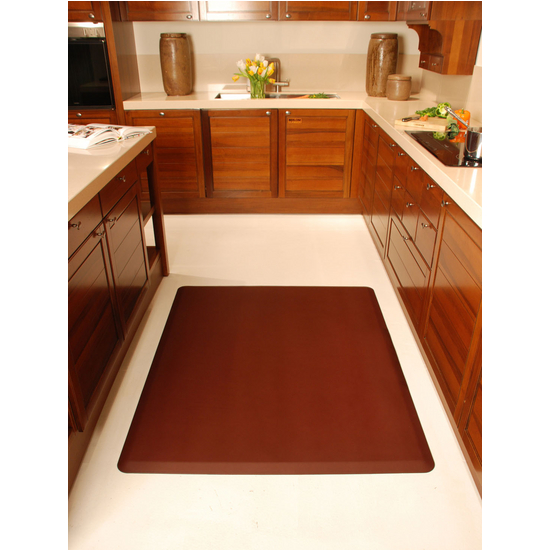 WellnessMats Wellness Mat, Burgundy