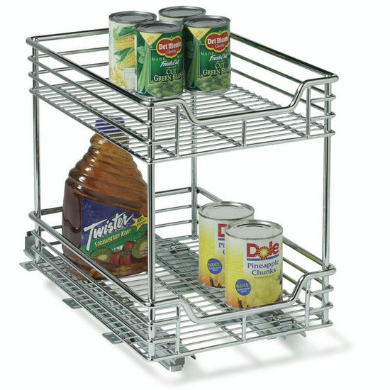 "11-1/2"" Two-Tier Sliding Organizer"