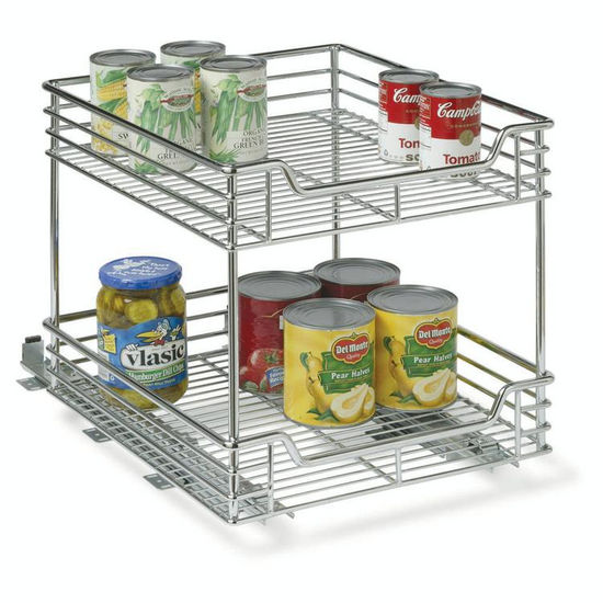 "14-1/2"" Two-Tier Sliding Organizer"