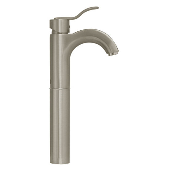 Whitehaus Galleryhaus Single Hole Faucet, Brushed Nickel