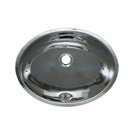 Whitehaus Metal Bathroom Basin: Undermount Bath Basin