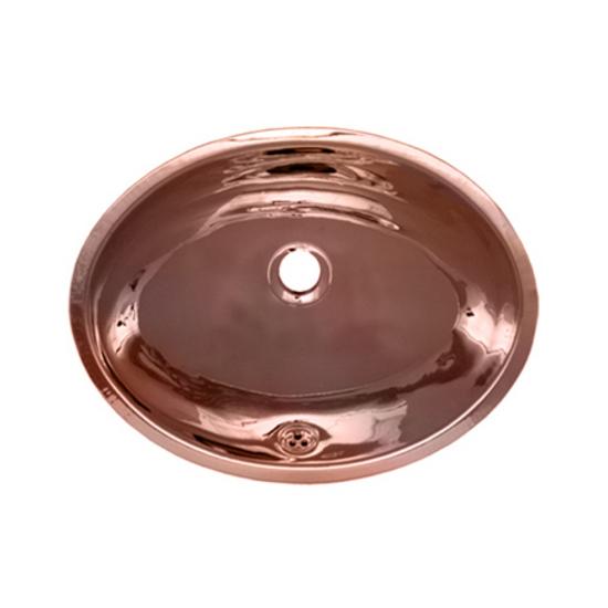 Whitehaus Metal Bathroom Basin: Undermount Bath Basin