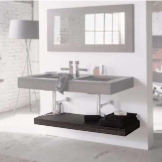 Whitehaus Antonio Miro Wood Shelves