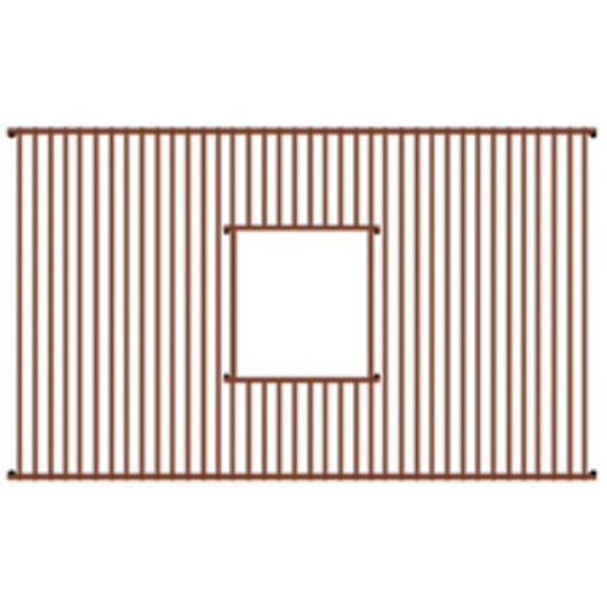 "Whitehaus - Rectangular Copperhaus Sink Grid 27"" W"