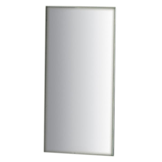 Whitehaus Small Rectangular Mirror with Dark Border
