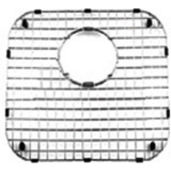Noah Collection - Stainless Steel Sink Grid, Square