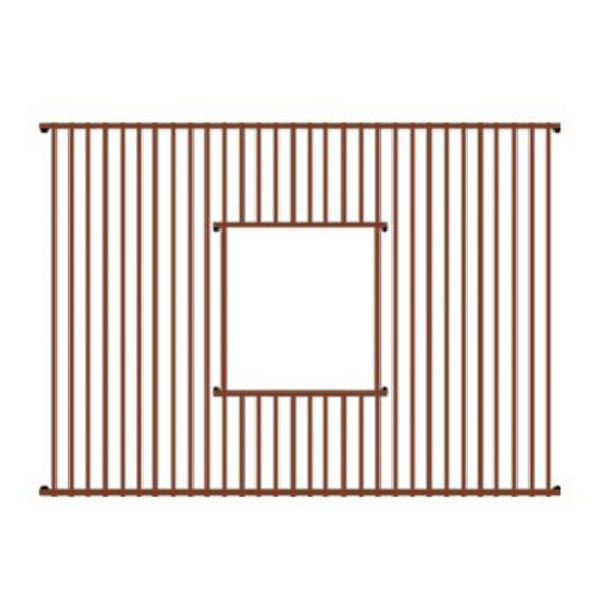 Whitehaus - Copperhaus Sink Grid - Rectangular Shape, Copper