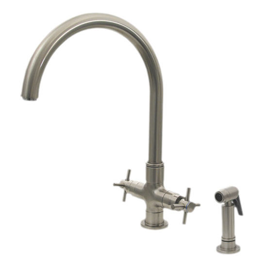Whitehaus - Single Hole/Dual Handle Faucet