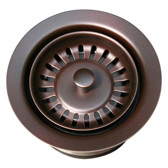Whitehaus Waste Disposer Trim, Mahogany Bronze