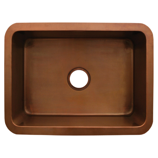 Whitehaus Copperhaus Rectangular Undermount Sink