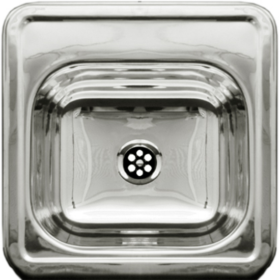 Whitehaus - Entertainment/Prep Sink, Polished Stainless Steel