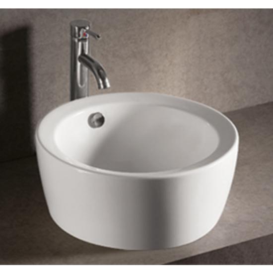 Isabella Round Above-Mount Bath Sink