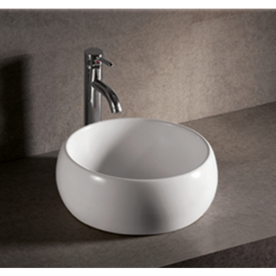 Isabella Round Above-Mount Bath Sink