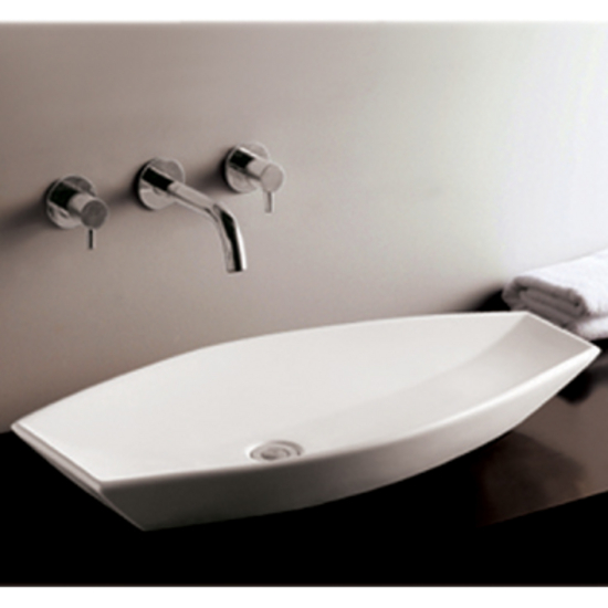 Isabella Oval Above-Mount Bath Sink