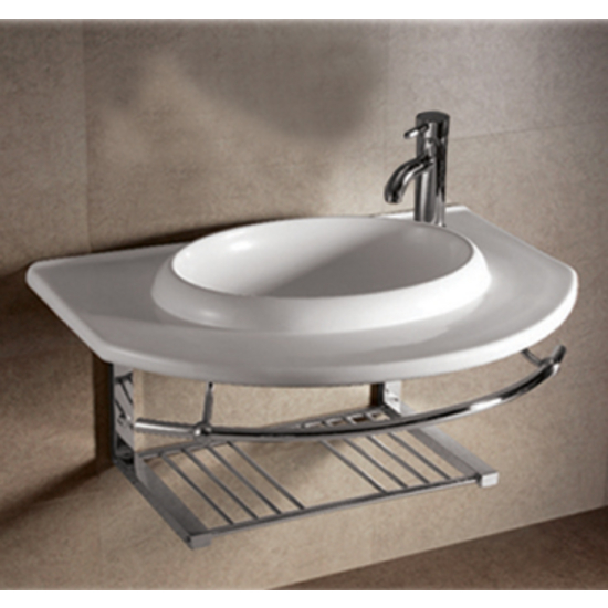 Bathroom Sinks China Isabella Round Bowl Bath Sink With Wall Mount