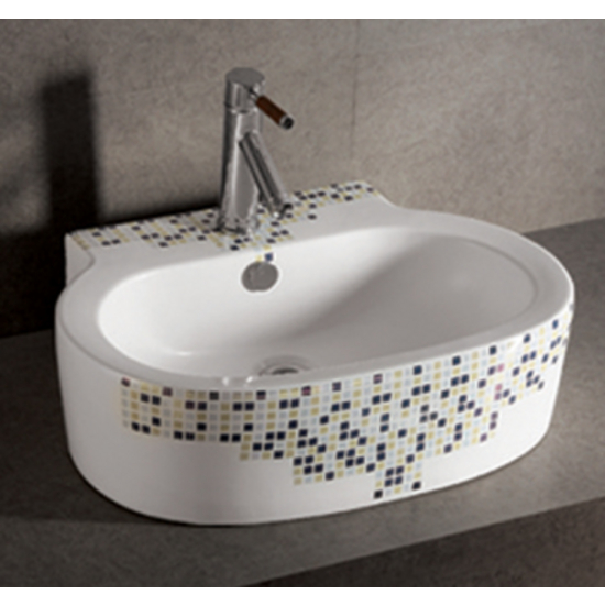 Isabella Decorative Oval Above-Mount Bath Sink