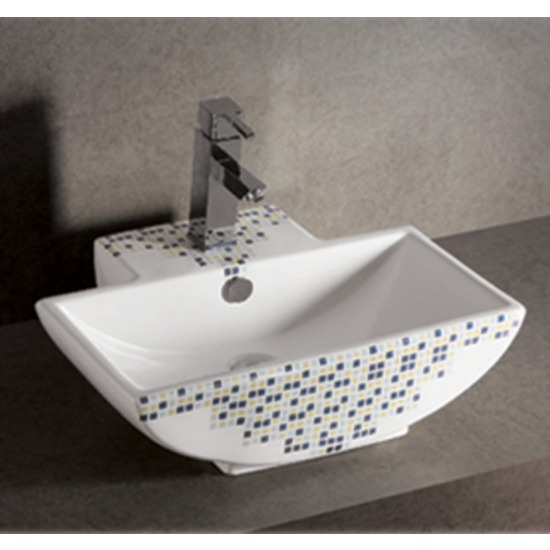 Isabella Decorative Rectangular Above-Mount Bath Sink