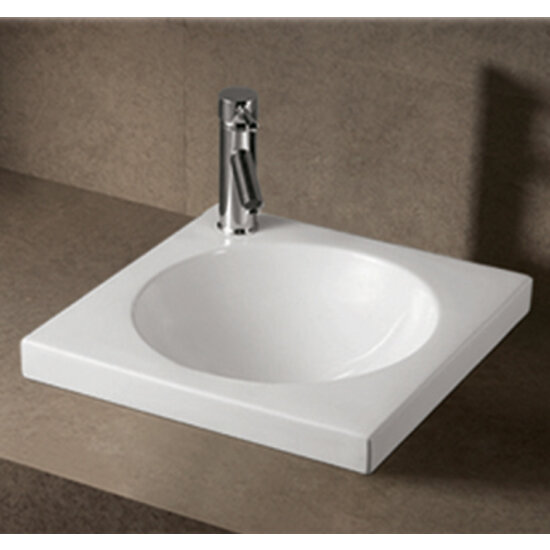 Bathroom Sinks - China Isabella Square Drop-In Bath Sink by Whitehaus ...