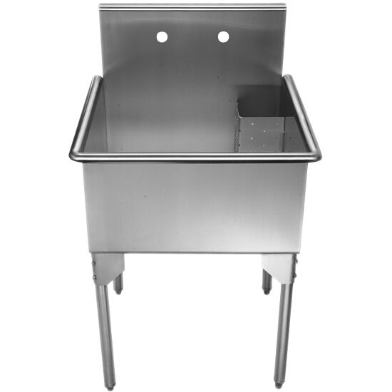 Whitehaus Pearlhaus Free Standing Utility Sinks with Drain Corner ...