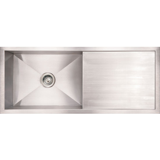 Stainless Steel Sinks With Drainboards : Stainless Steel Sinks With Drainboard Stainless Steel Kitchen Sink