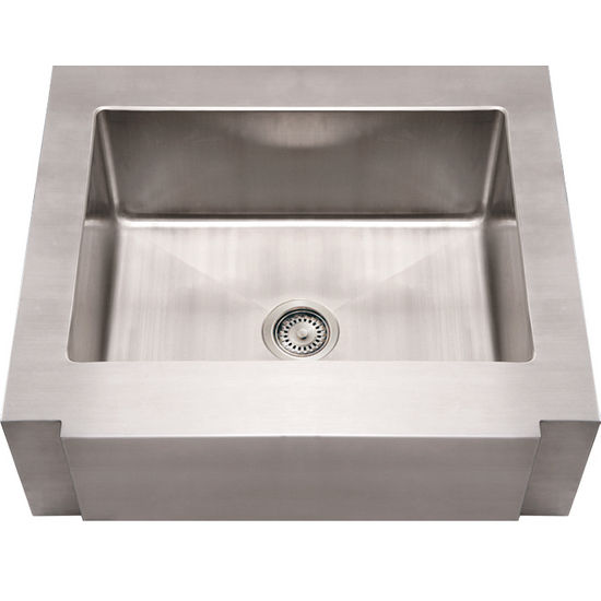 Kitchen Sinks Commercial Single Bowl Sink With Notched