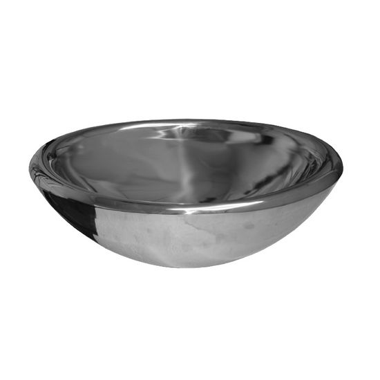 "Whitehaus Noah Collection Bath Double Layer Above Mount Vessel Basin, 21-1/2""W x 14-3/4""D x 6-1/2""H"