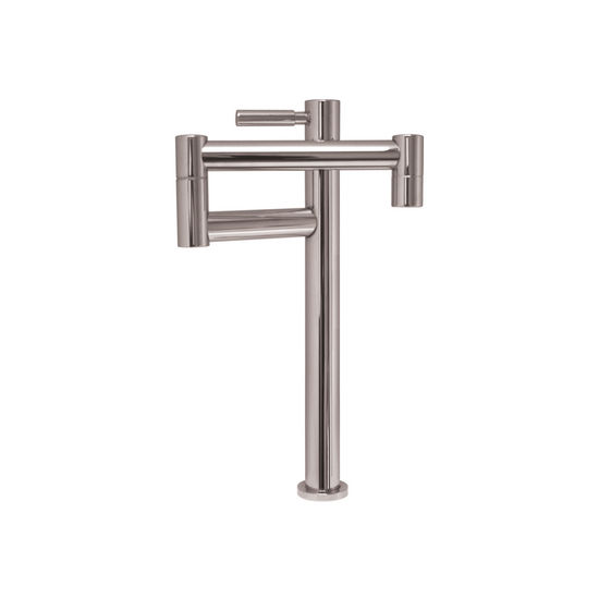 Whitehaus Deck Mount Pot Filler in Polished Chrome Finish