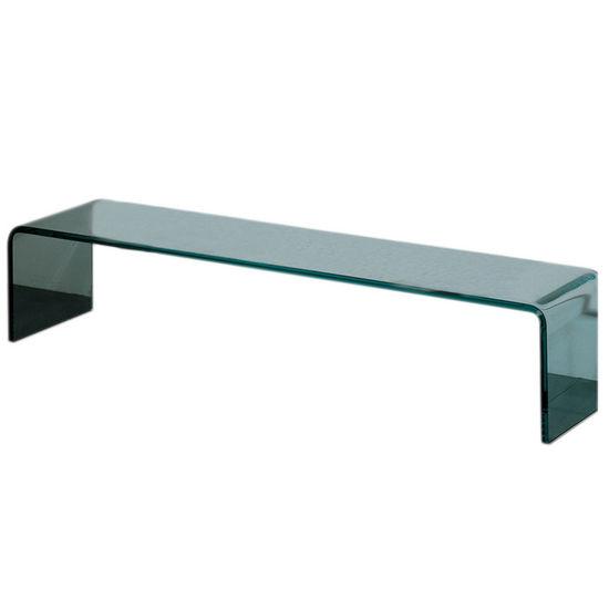 Whitehaus Freestanding Glass Shelf